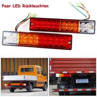 2x LED Anhänger Rücklicht Rückleuchten Heckleuchte Anhängerleuchten Beleuchtung