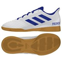 Chaussures Indoor adidas Predator 19.4 In Sala Jr CM8553 blanc multicolore