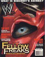 WWF Magazine November 2002 Kane, Bischoff VG 032916DBE