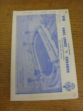 27/01/1968 GENNAIO V CORBY Town (scrivendo sulla copertina, minuscoli segni). se non specificato P