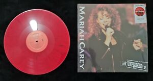 Mariah Carey Unplugged 🦋 Marble Red Limited Vinyl Record LP Target