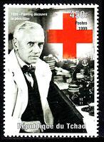 Tschad postfrisch MNH Alexander Fleming England Medizin Penicillin Nobelpreis/14