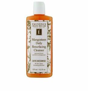 Eminence Organic Skincare Mangosteen Daily Resurfacing Cleanser, 4.2 Ounce
