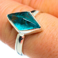 Apatite 925 Sterling Silver Ring Size 8.25 Ana Co Jewelry R46631F