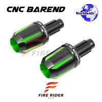 CNC Billet Green MC Tforce Bar Ends For Kawasaki NINJA 1000 SX 10-16 11 12 13 14