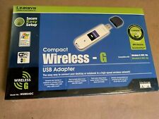 Linksys Compact Wireless-G USB Adapter 2.4 GHz 802.11g WUSB54GC Cisco Systems