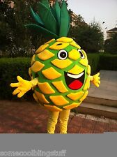 Hot Pineapple Mascot Costume Halloween Birthday Party Dress Free Shipping Adult