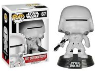 POP! Star Wars First Order Snowtrooper #67 - New With POP! Protector