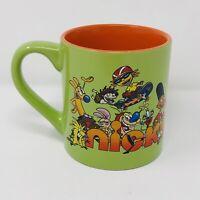 Official Nickelodeon '90s Characters Coffee Mug Tea Cup Green 2019