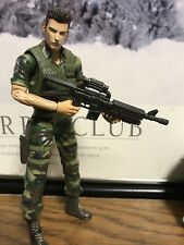 Replaced Hands* Resident Evil 3 Chris Redfield Camo Action Figure Palisades 2002
