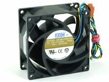 AVC DA08038B12H Case Cooling Fan/Lüfter 80x80x38mm 4-Pin IBM Lenovo M57e 41R6042