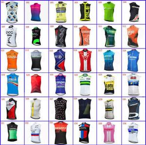 Cycling Jersey 2021 Summer Sleeveless Bike Shirts Bicycle Vest Racing Clothing