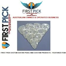Guitar Picks pack of 10 Silver Pearl .71mm   from First Pick Custom Guitar Picks