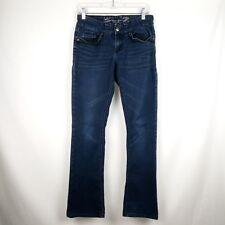 Seven 7 Rocker Slim Jeans Women Size 2 Blue
