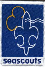 Boy Scout Badge SEA SCOUTS Belgium