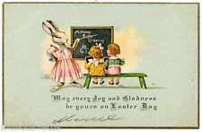 Animaux . Pâques . Lapin humanisé . Humanized rabbit . Easter . Animals