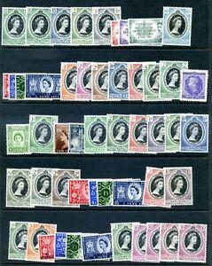 1953 CORONATION QUEEN ELIZABETH COMMONWEALTH OMNIBUS NEAR COMPLETE 104v U/M