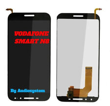 P1 DISPLAY LCD+TOUCH SCREEN VODAFONE PER SMART N8 VFD610 VF610 NERO VETRO NUOVO