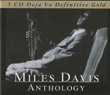 5 CD-Box Album Miles Davis Anthology Deja Vu Definitive Gold 2007