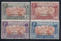 Cirenaica 1923 Sass. 1-4 Nuovo ** 40% 20 cent, 30 cent, 50 c, 1 L.