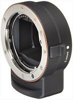 SONY LA-EA3 Attach A-Mount Lens Adapter Sony Lenses  E-Mount Cameras Alpha NEW