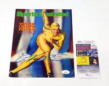 Eric Heiden Signed Sports Illustrated Magazine Cover (2-11-80) JSA Auto DA042086