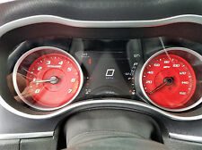 Us Speedo Daytona Edition Red Dodge Charger R/T Gauge Face for 2015-2018 160 MPH