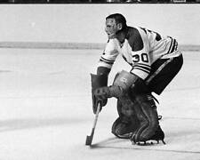 Old Ice Hockey Photo 1960s Terry Sawchuk Of The Toronto Maple Leafs 4