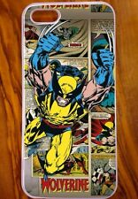 NUOVO iPhone 5/5s Cover/Case, design fresco retrò, Wolverine, X-men, Marvel, fumetto