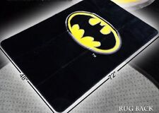 Licensed Batman Emblem Logo Super Soft Plush Area Rug 4 x 6 Feet - Carpet
