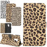 Samsung S9+Plus iPhone X Case Leopard Wallet Card PU Leather Purse Flip Cover