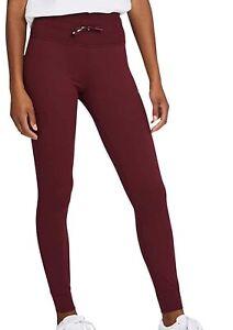 New Puma Ladies' Active Jogger Tight Pant Extra Large XL Zinfandel