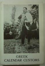 1963 GREEK CALENDAR CUSTOMS George A Megas FESTIVALS Traditions FOLKLORE Photos