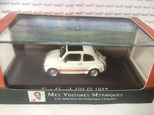 VOITURE FIAT ABARTH 595 SS 1957 1/43 EME MES VOITURES MYTHIQUES CHAPATTE