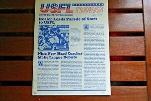 USFL News Volume 1, Number 1