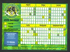 Rochester Rhinos--2015 Magnet Schedule--Allstate--USL