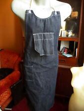 New Nos Vtg 70s 80s Denim Apron, Work Wear, Jeans, Sanforized All Cotton New Usa