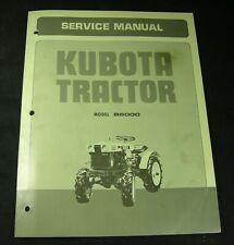 Kubota Tractor B6000 Service Repair Manual Book Catalog Original OEM