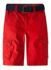 Levi's Little Boys Westwood Cotton Cargo Red Shorts - 4 REG  NWT - MSRP$42.00