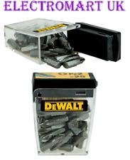 25 DEWALT POZI 2 PZ2 SCREW IMPACT DRIVER BITS DT71521-QZ IN TIC TAC STORAGE BOX
