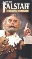 VHS:  FALSTAFF THE ROYAL OPERA, COVENT GARDEN.....GIUSEPPE VERDI.......SUBTITLED