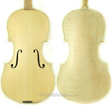5star Stradivari Style White Unfinished 44 Violin Excellent Spruce 1 Piece Maple