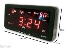 Digital LED Clock 2158 Alarm