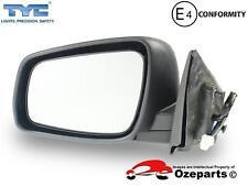 LH LHS Left Hand Electric Door Mirror Mat Black For Mitsubishi Lancer CJ 09~15
