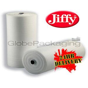 500mm x 200M Roll Of JIFFY FOAM WRAP Underlay Packing