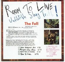 Room To Live: Undilutable Slang Truth! by The Fall (CD, Dec-2002, Cog...
