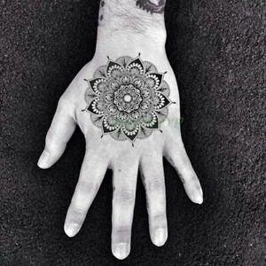 Waterproof Temporary Tattoo Sticker Rose Flower Hand Back Fake Tattoos Women Men