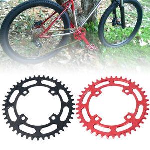 AU_ Wheel Bike Chainring Bicycle MTB 104BCD Crank Round 40T/42T Narrow Wide Chai
