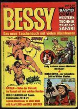 Bessy Nr.6 von 1975 mit Rahan, Ringo Raven.. - TOP Z1 BASTEI COMIC-Taschenbuch