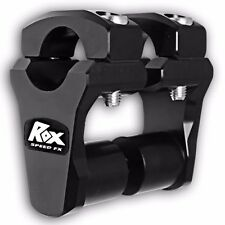 BLACK ROX SPEED FX KTM 125 - 990 DIRT 2 INCH PIVOTING RISER 1-1/8 BAR 1-1/8 STEM